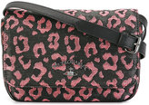 Vivienne Westwood leopard print crossbody bag - women - Cotton/Leather/Polyester - One Size