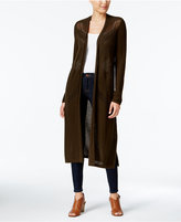 Style&Co. Style & Co Open-Front Duster Cardigan, Created for Macy's