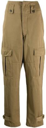 Etoile Isabel Marant High-Waisted Cargo Trousers
