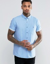 Asos Regular Fit 2 Colored Twill Shirt