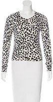 Diane von Furstenberg Ibiza Abstract Print Cardigan