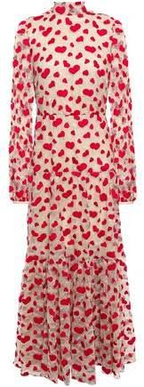 Giambattista Valli Embroidered Cotton-blend Chantilly Lace Maxi Dress