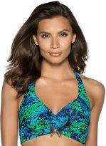 M&Co Butterfly pattern bikini top