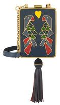 Tory Burch Adele Parrot Clutch