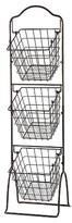 Pfaltzgraff Expressions Grange Wire-3 Tier Market Basket