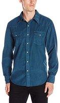 True Grit Men's Jackson Cord Two Pocket Shirt