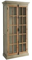 Pier 1 Imports Cremone Linen Gray Tall Cabinet