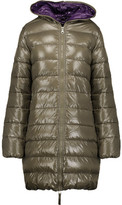 Duvetica Ace Quilted Shell Hooded Coat
