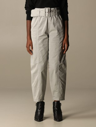 See by Chloe See By Chloeacute; High-waisted Cotton Trousers