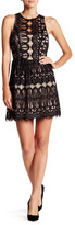 Trixxi Lace Sleeveless Skater Dress