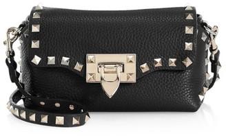 Valentino Mini Rockstud Leather Crossbody Bag