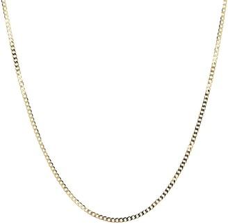 "Italian Gold 19-3/4"" Cuban Link Necklace, 18K 4.1g"