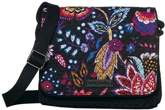 Vera Bradley Iconic Small Turnabout Crossbody (Foxwood) Bags