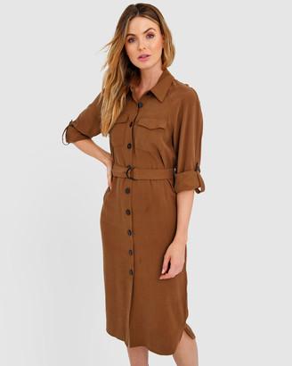 Forcast Ashley Shirt Dress