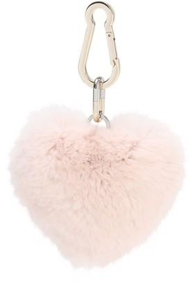 Yves Salomon Rex Rabbit Key Ring