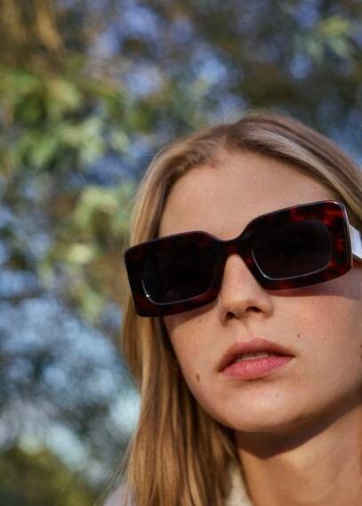 Thumbnail for your product : MANGO Tortoiseshell-effect acetate sunglasses