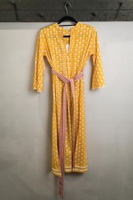 Pink City Prints - Yellow Dress - S