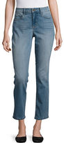NYDJ Petite Faded Cropped Jeans