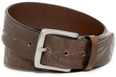 Tommy Bahama Hibiscus Embossed Leather Belt