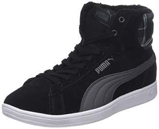 Puma Women's Vikky Mid WTR Hi-Top Trainers, Black-Iron Gate