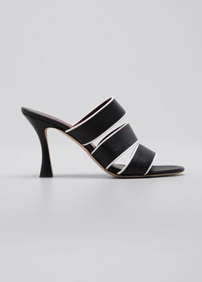 STAUD 55mm Sonny Bicolor Slide Sandals