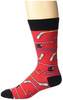 Socksmith Power Play (Red) Men's Crew Cut Socks Shoes