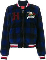 Tommy Hilfiger tartan bomber jacket