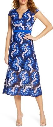 Foxiedox Aubree Lace Midi Dress