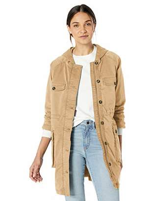 Goodthreads Amazon Brand Women's Hooded Utility Jacket