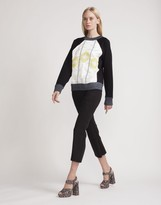 Cynthia Rowley Embroidered Sweatshirt