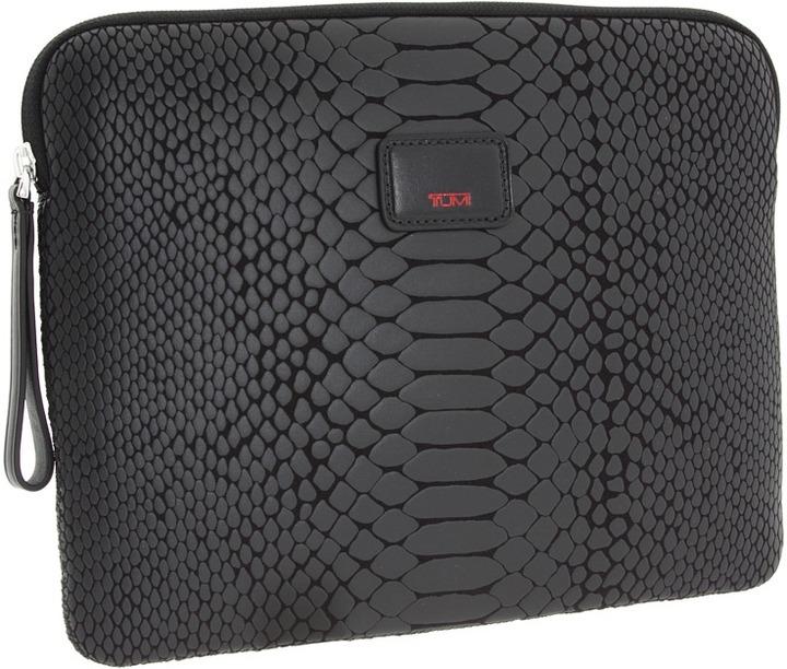Tumi Alpha - Universal Slim Cover (Black Python) - Bags and Luggage