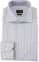 Ermenegildo Zegna Men's Trofeo Wide Stripe Dress Shirt