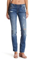 Vigoss Jagger Straight Leg Distressed Jean
