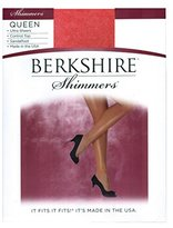 Berkshire Shimmers Plus Size Control Top Sheer Toe (4412)