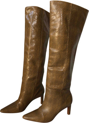 Zimmermann Camel Leather Boots