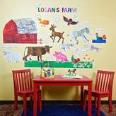 Oopsy Daisy Fine Art For Kids Eric Carle, 's Farm Peel and Place Childrens Wall Decals by Eric Carle, 54 by 60-Inch by