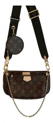 Louis Vuitton Multi Pochette Access Brown Cloth Handbags