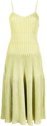 Antonino Valenti Knit Shift Midi Dress