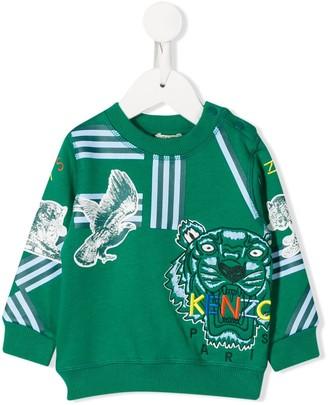 Kenzo Kids Embroidered Logo Sweater