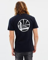 Mitchell & Ness Mono Logo Tee - Golden State Warriors
