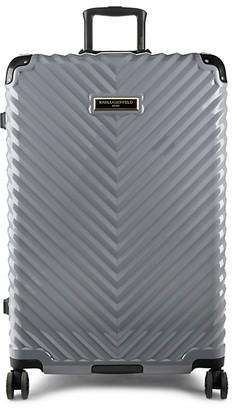 Karl Lagerfeld Paris Textured 31-Inch Hardside Suitcase