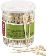 Crate & Barrel Set of 160 Meat Markers