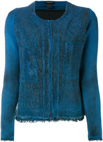 Avant Toi embellished jacket - women - Cotton/Linen/Flax/Polyamide - M