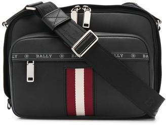 Bally Logo Stripe Shoulder Bag