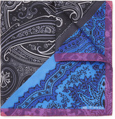 Etro - Paisley-print Silk-twill Pocket Square