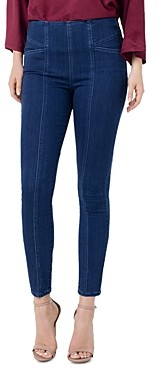 Liverpool Los Angeles Liverpool Reese Seamed Legging Jeans in Breckenridge Navy