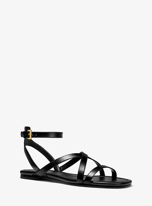 Michael Kors Tasha Leather Sandal