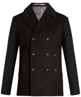 Kenzo Double-breasted Wool And Cashmere-blend Pea Coat