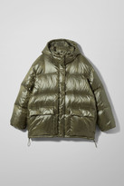 Weekday Sammy Puffer Jacket - Green