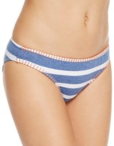 Splendid Chambray Retro Bikini Bottom